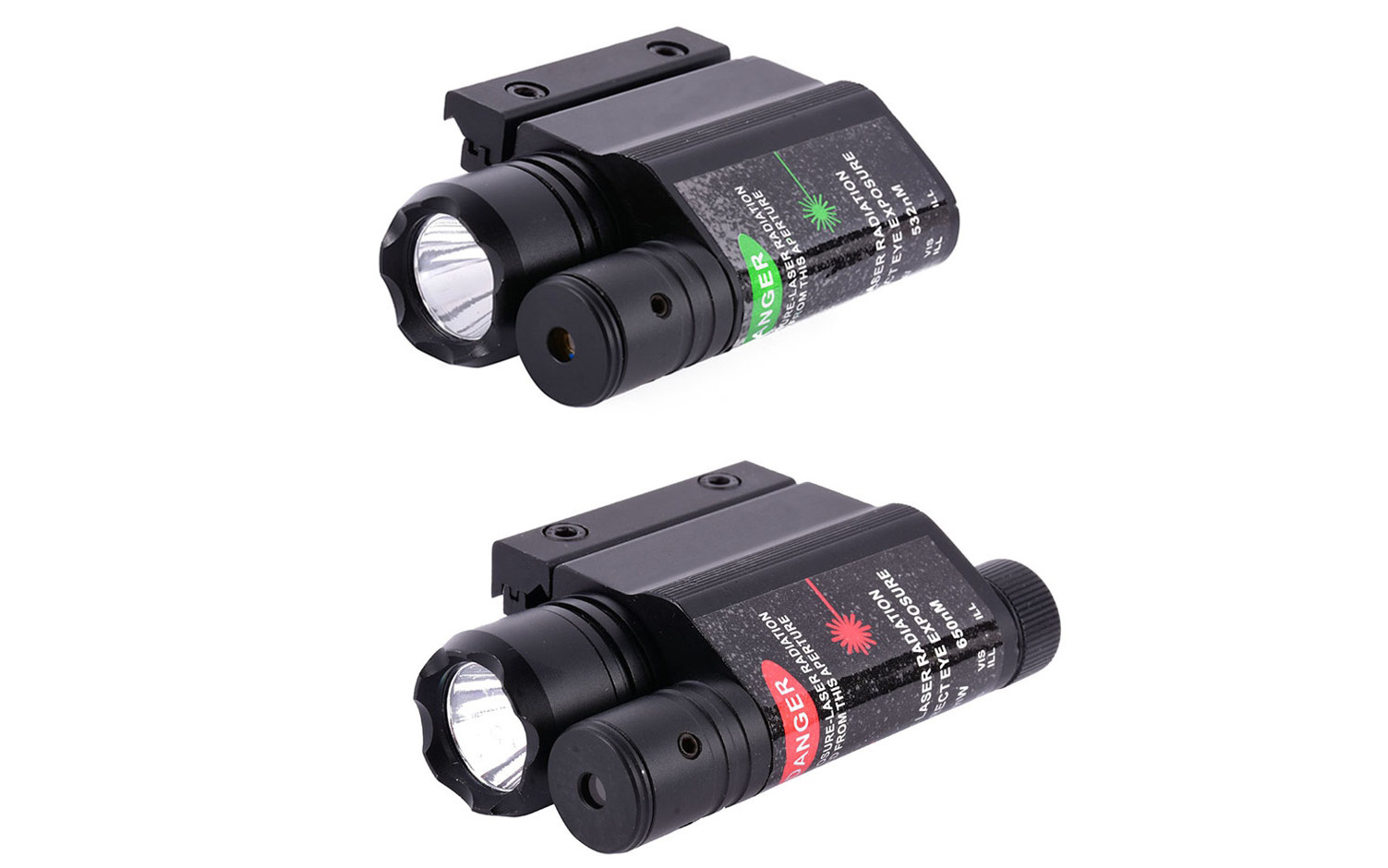 Froomer Hunting 532nm Green Laser Combo Sight Flash