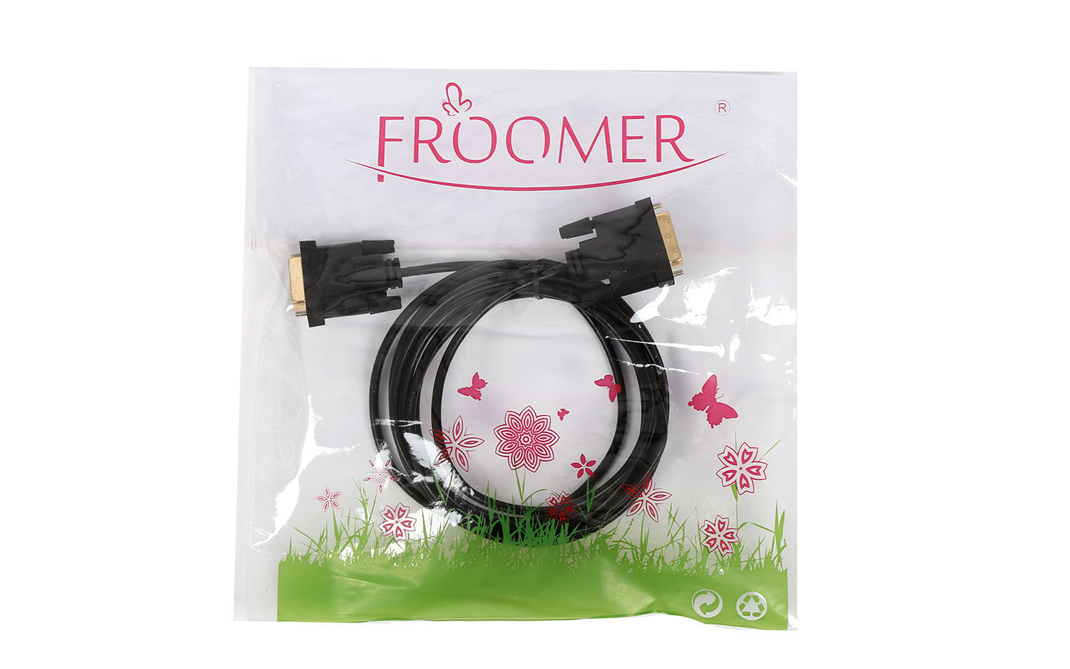 Froomer 1 M 1.8M 3M DVI D To DVI-D Male 24+1 Pin Du